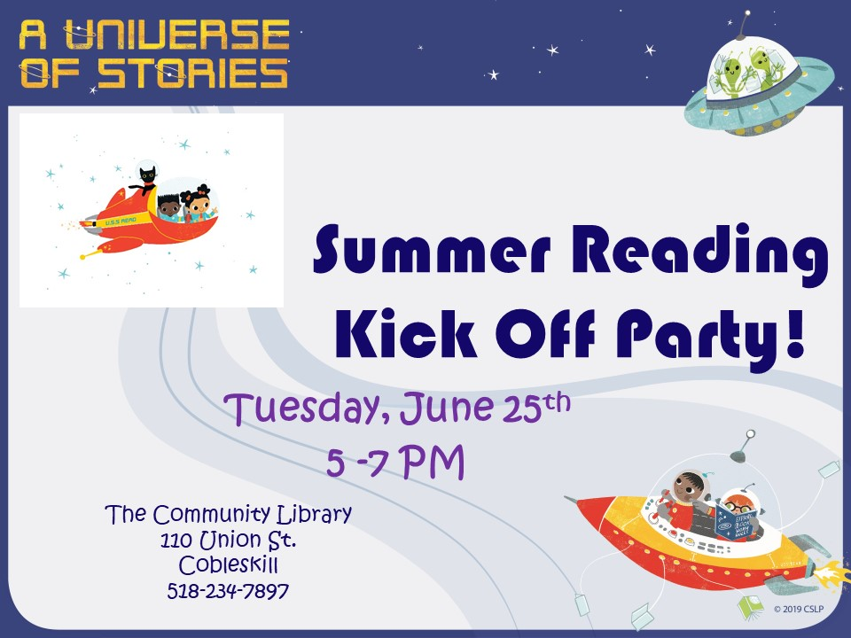 Summer Reading Party
